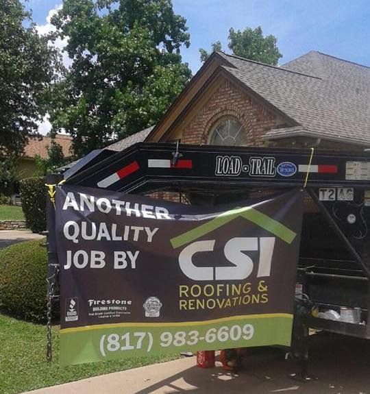new csi roof for home