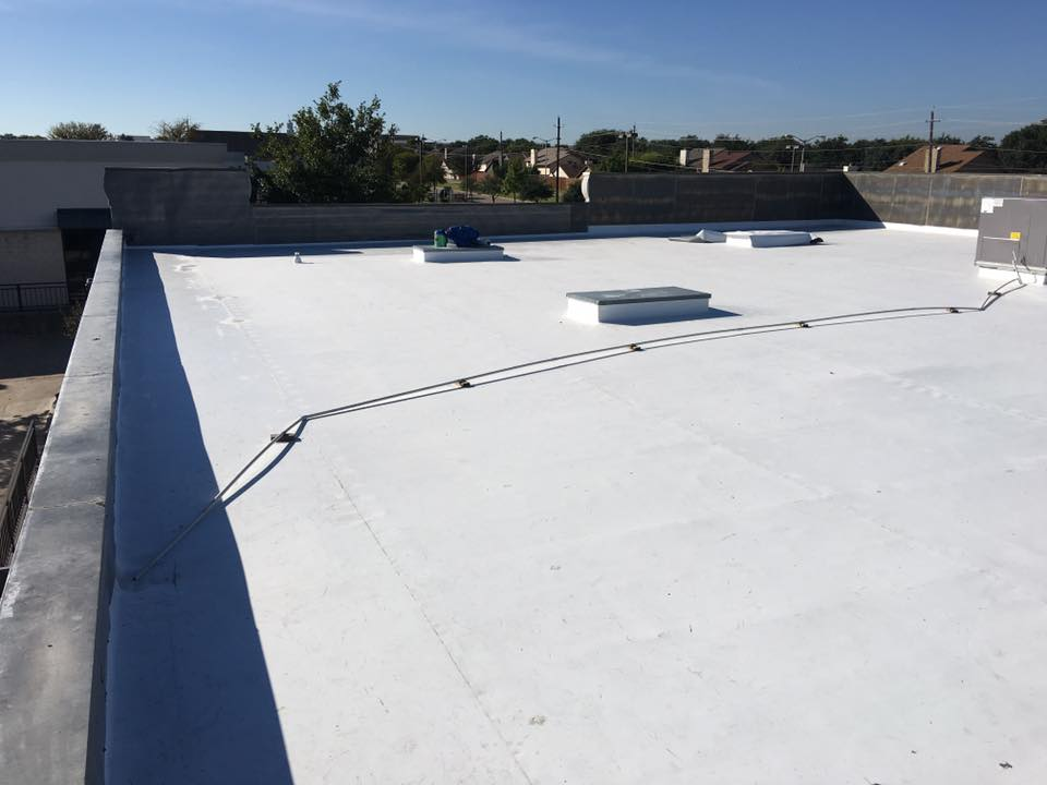 Dallas TPO Roof