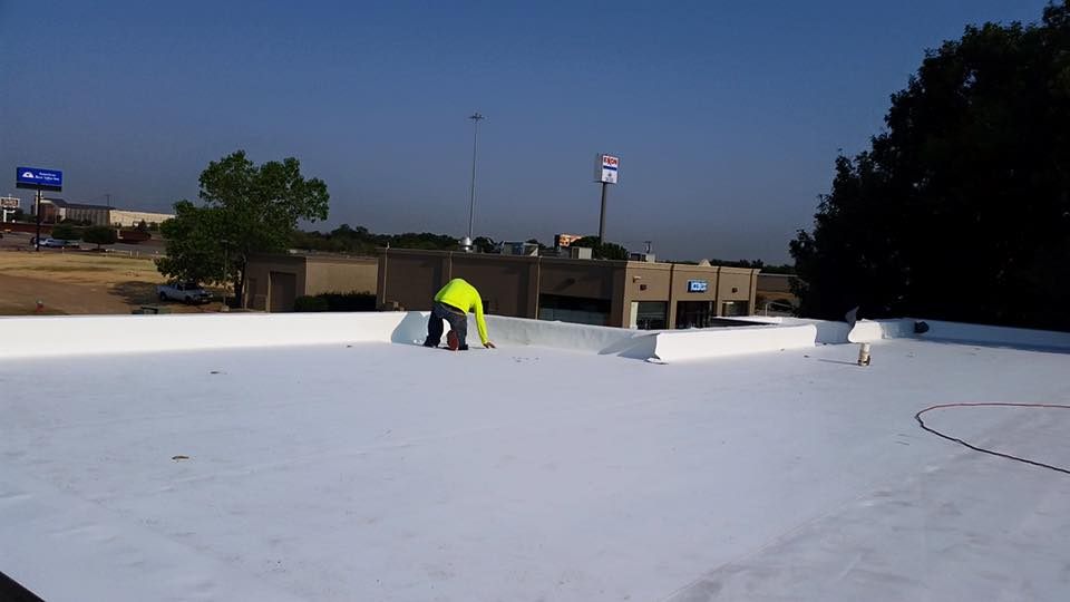 TPO Roof Install Commercial