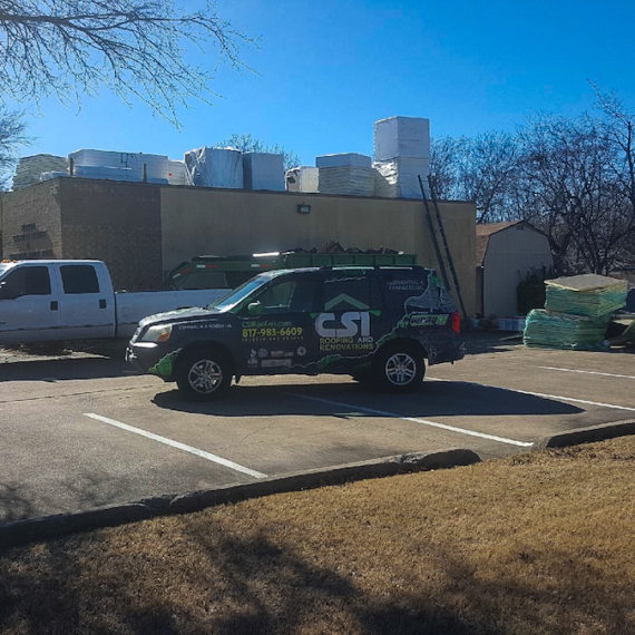 TPO Roof for Mesquite TX building
