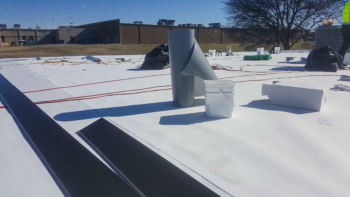 TPO Roof Application