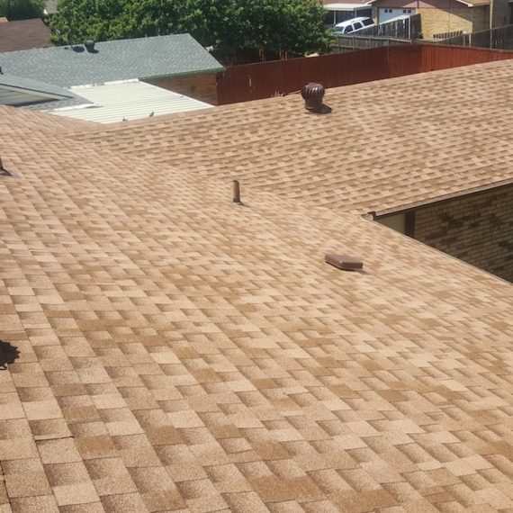 New Roof for Mesquite TX home