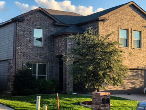 Home in Haslet after new roof installed
