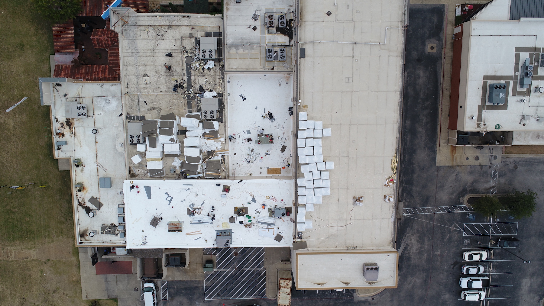 Arlington TX Commercial roof inspection