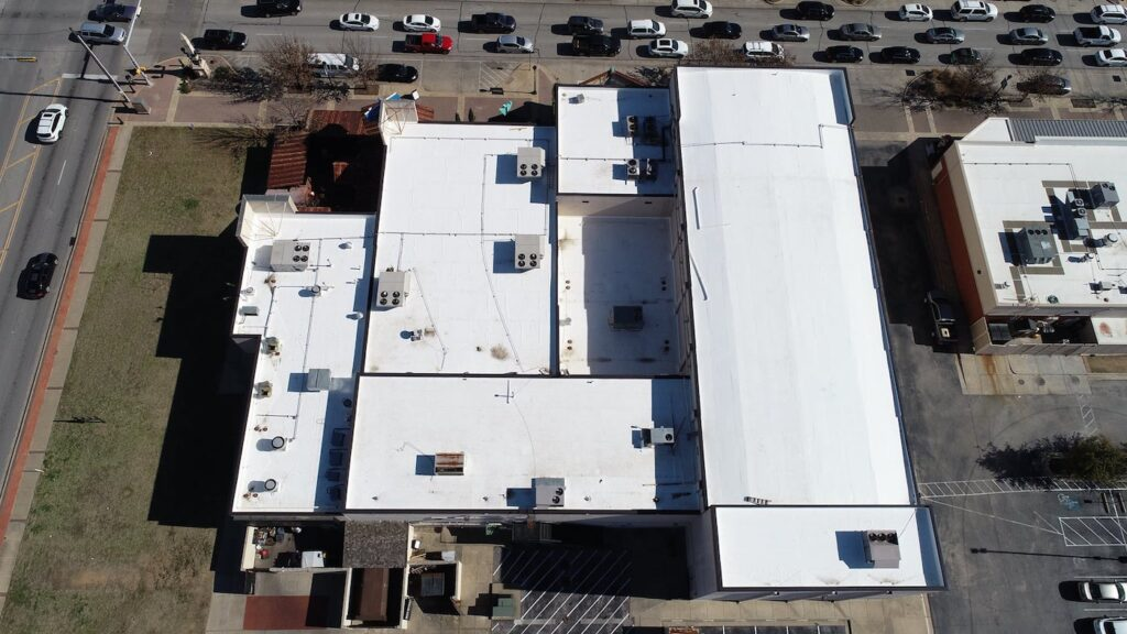 Arlington Commercial roof replacement by Ft Worth Roofers